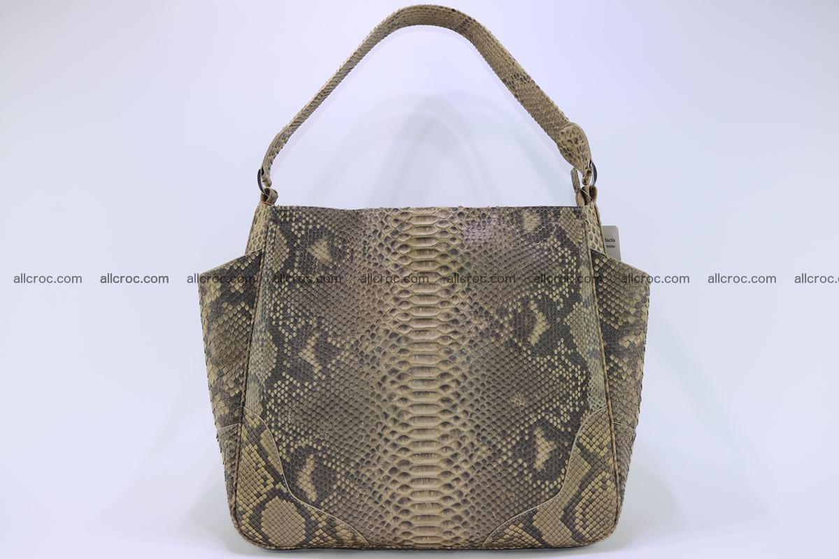 Python skin women handbag 268 Foto 0
