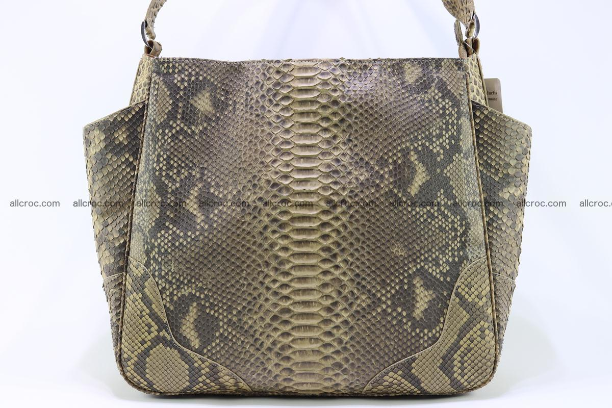 Python skin women handbag 268 Foto 4