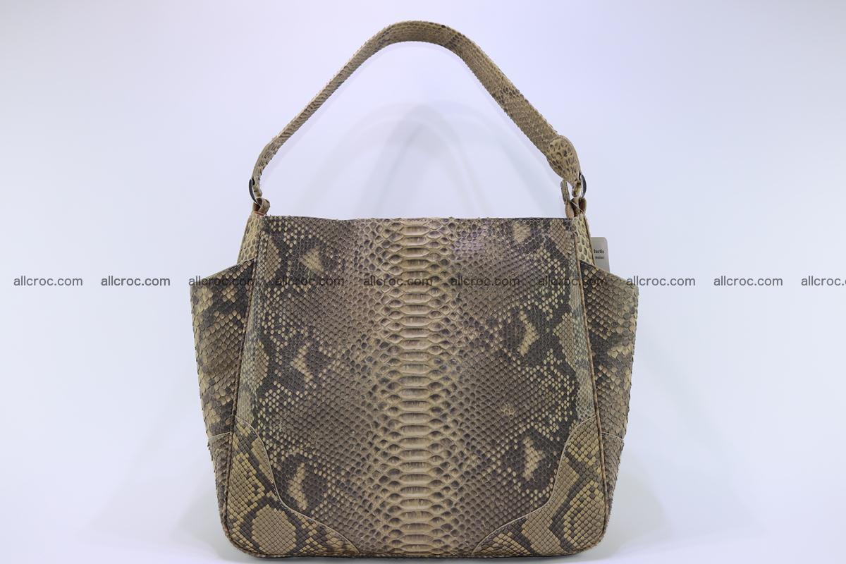 Python skin women handbag 268 Foto 1