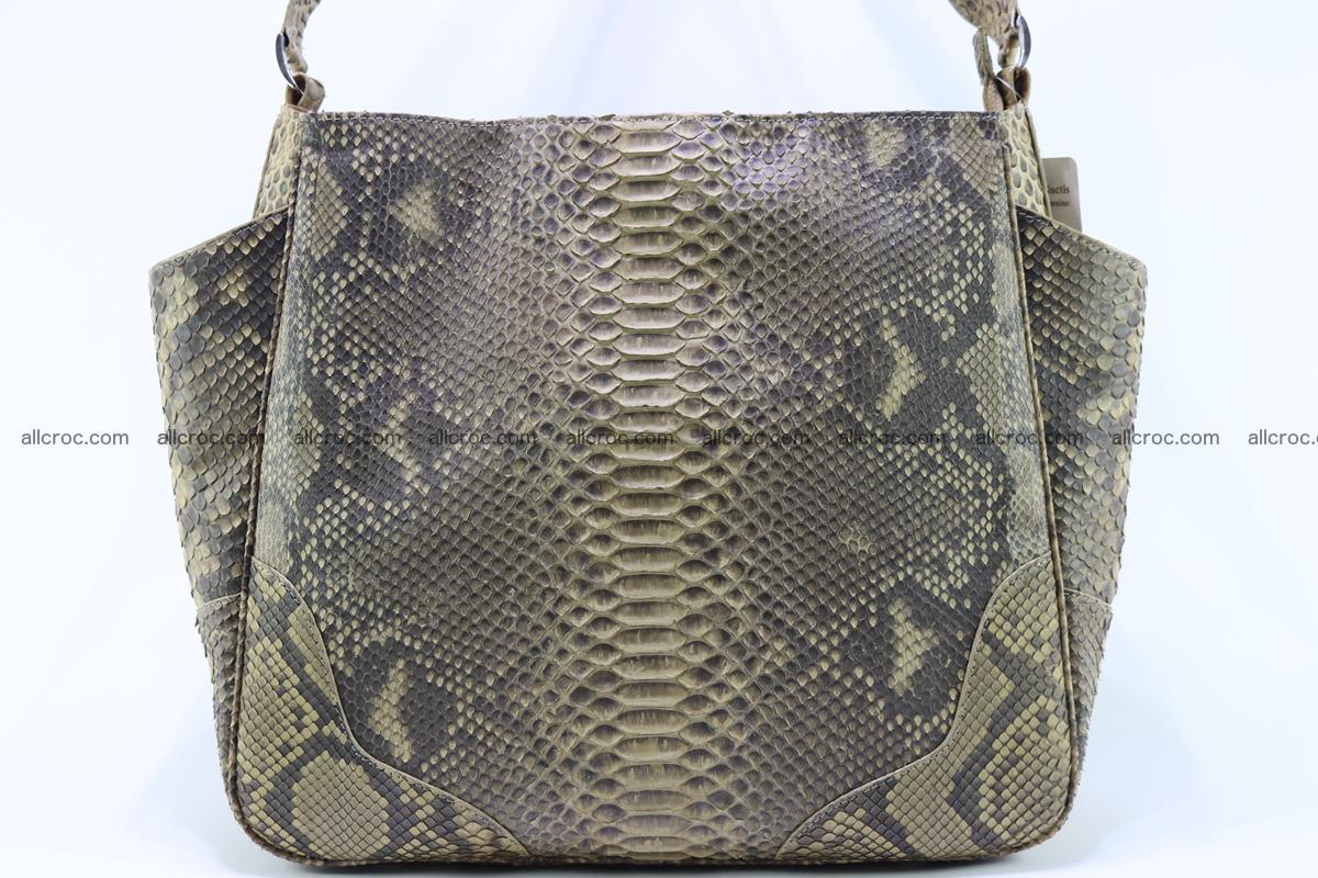 Python skin women handbag 268 Foto 2