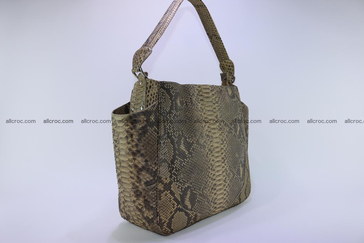 Python skin women handbag 268 Foto 3