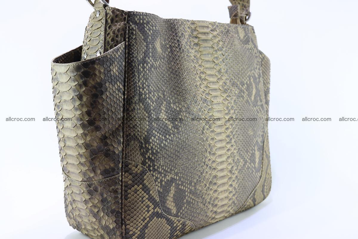 Python skin women handbag 268 Foto 8