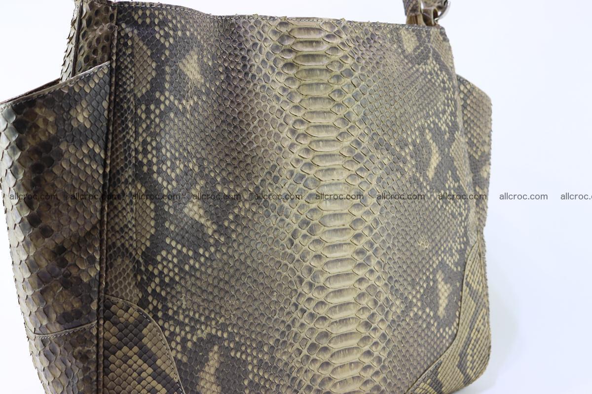 Python skin women handbag 268 Foto 5