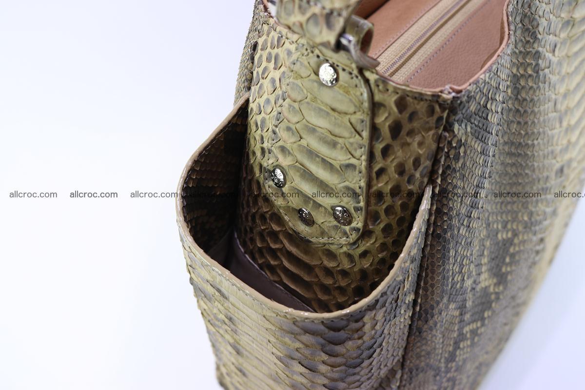Python skin women handbag 268 Foto 7