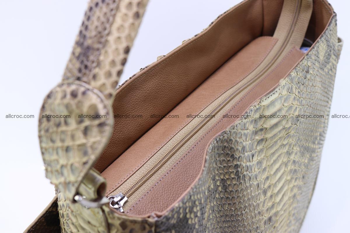 Python skin women handbag 268 Foto 12