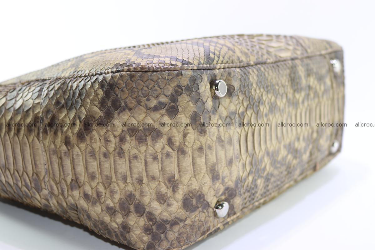 Python skin women handbag 268 Foto 10