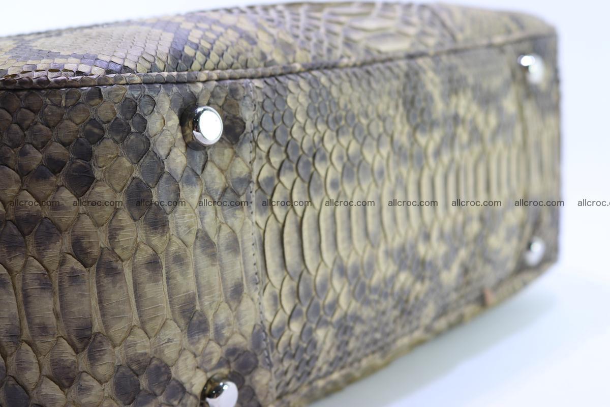 Python skin women handbag 268 Foto 9
