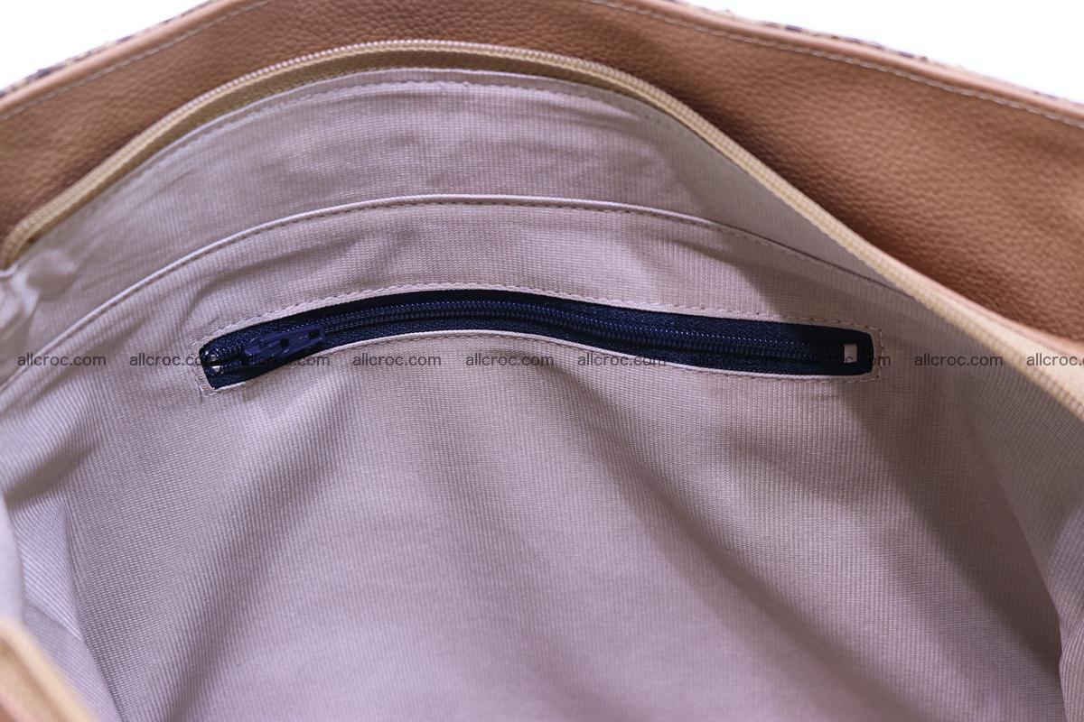 Python skin women handbag 268 Foto 14
