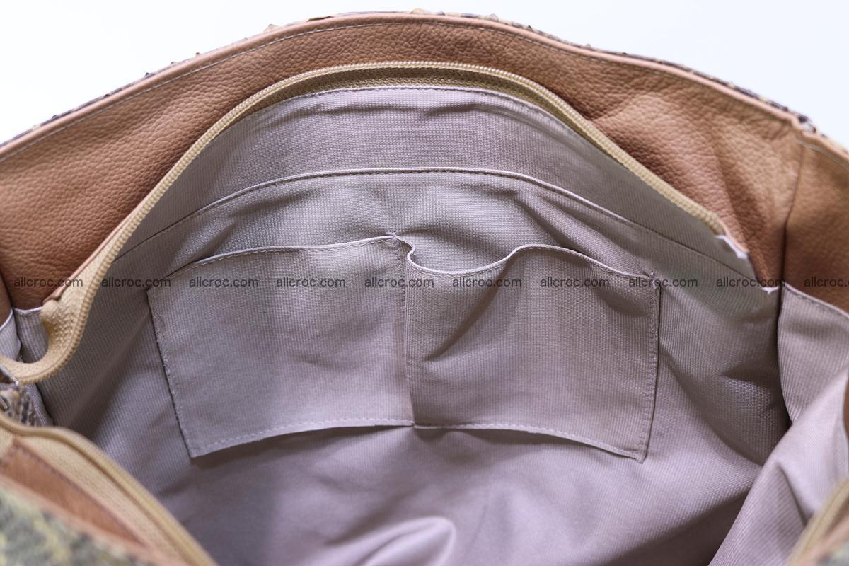 Python skin women handbag 268 Foto 13