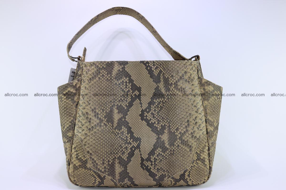 Python skin women handbag 269 Foto 0