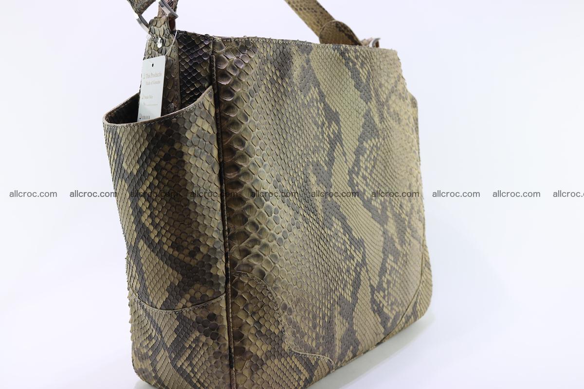 Python skin women handbag 269 Foto 3