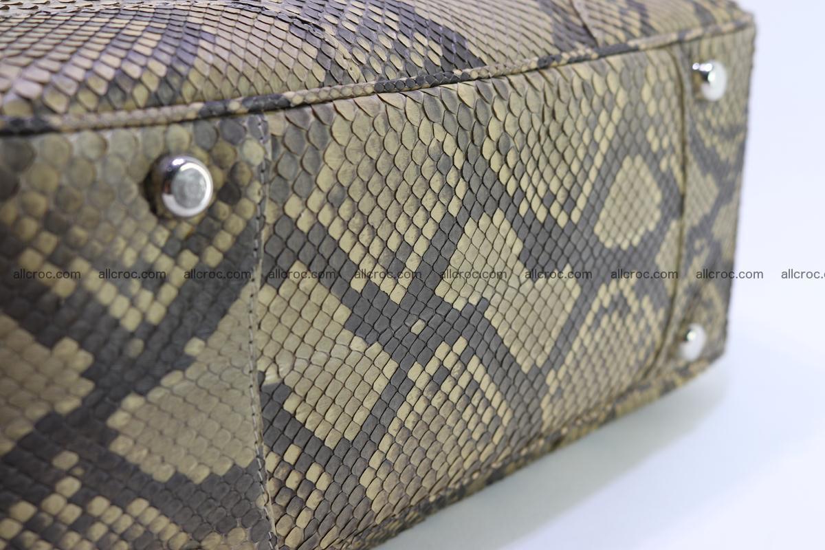 Python skin women handbag 269 Foto 5