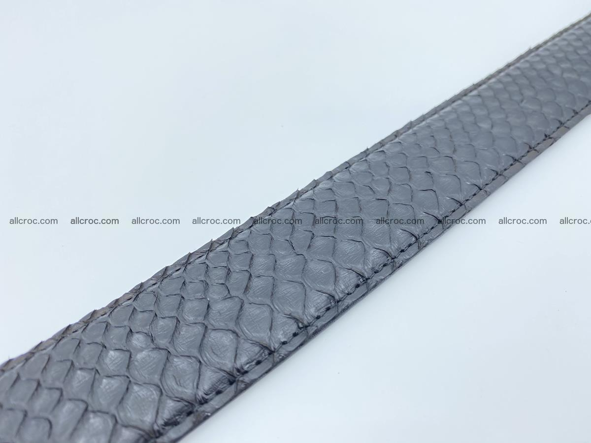 Python snake leather belt 698 Foto 7