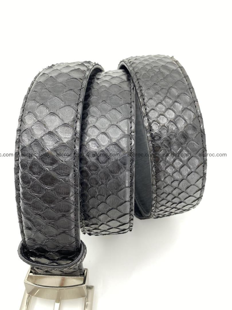 Python snake leather belt 698 Foto 5