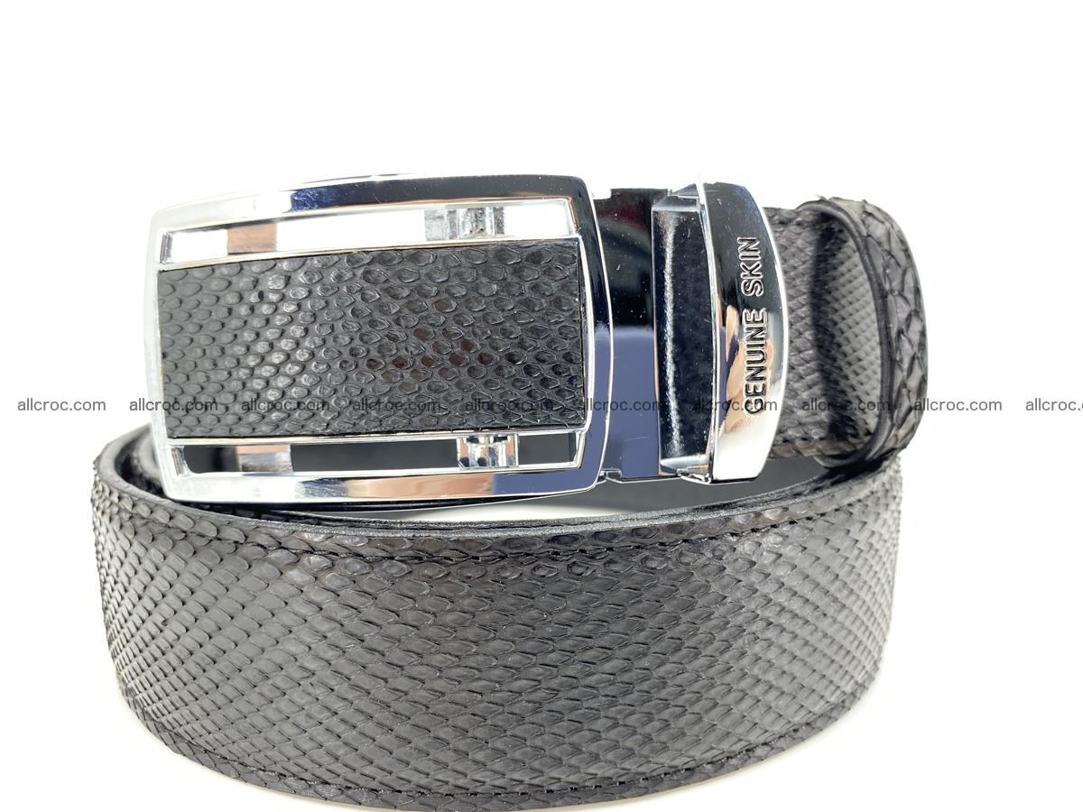 Python snake leather belt 699 Foto 0
