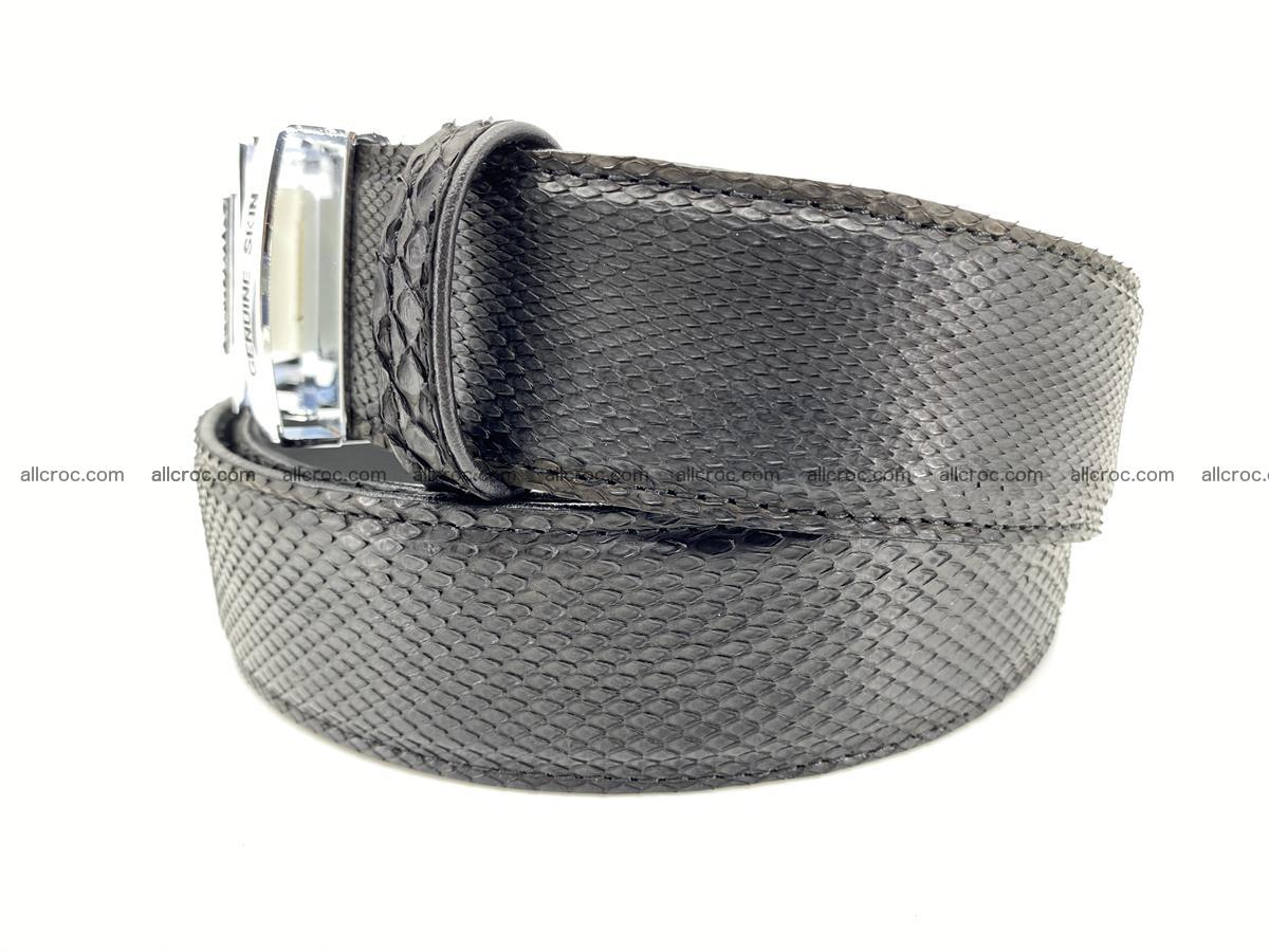 Python snake leather belt 699 Foto 1
