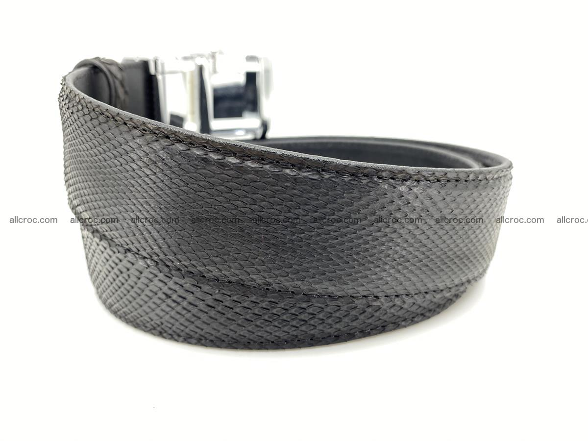 Python snake leather belt 699 Foto 2