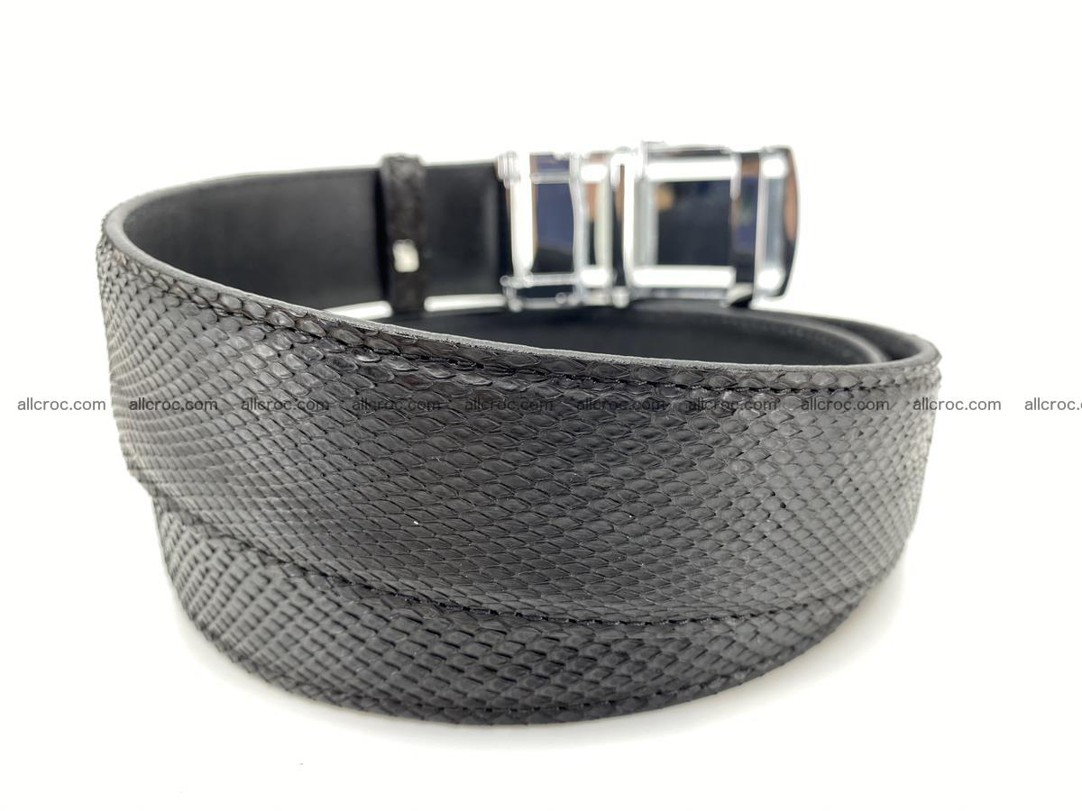 Python snake leather belt 699 Foto 3