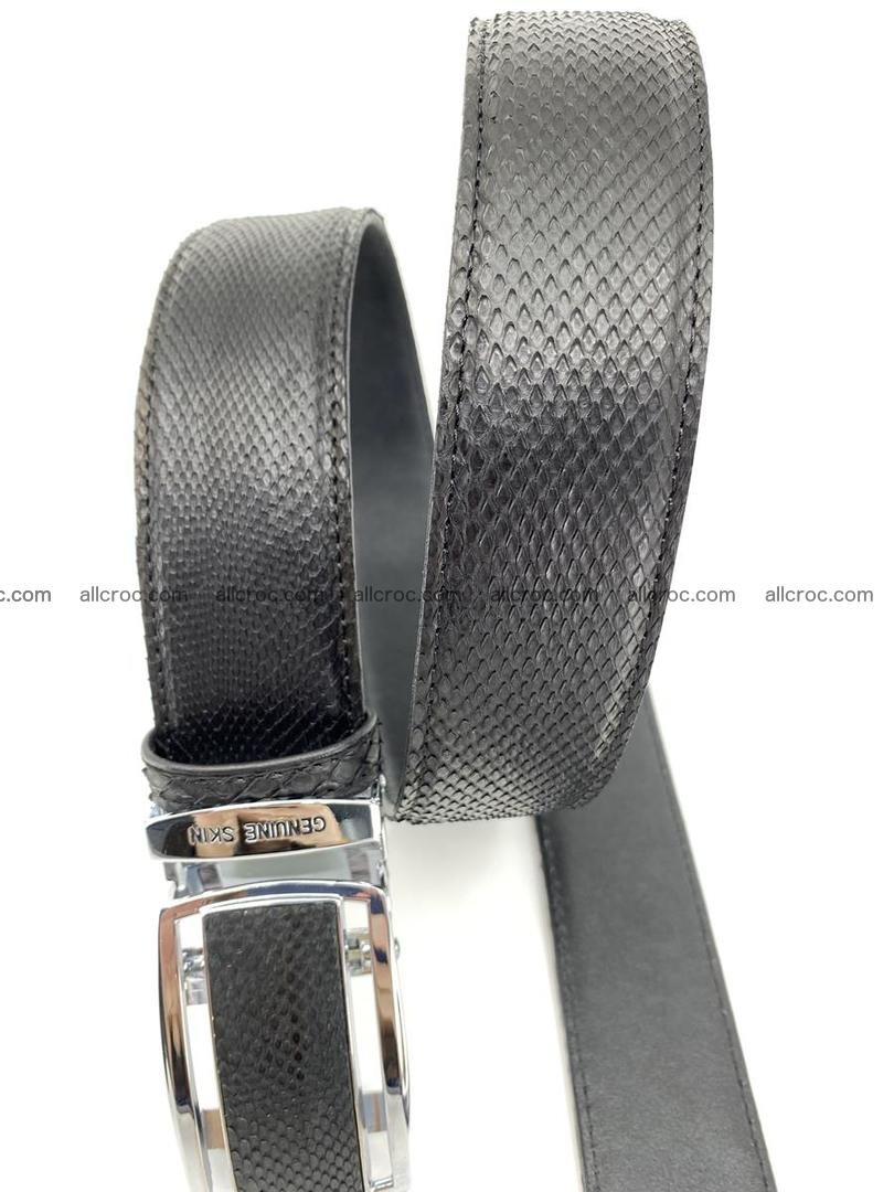 Python snake leather belt 699 Foto 4