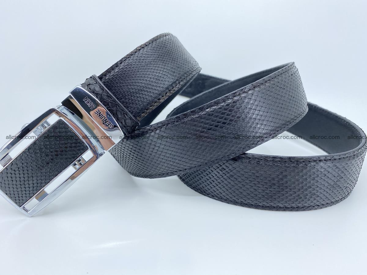 Python snake leather belt 699 Foto 6