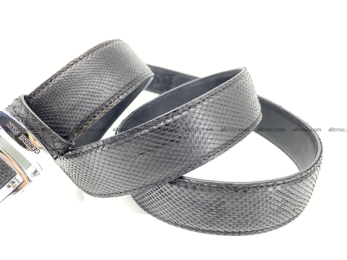Python snake leather belt 699 Foto 5