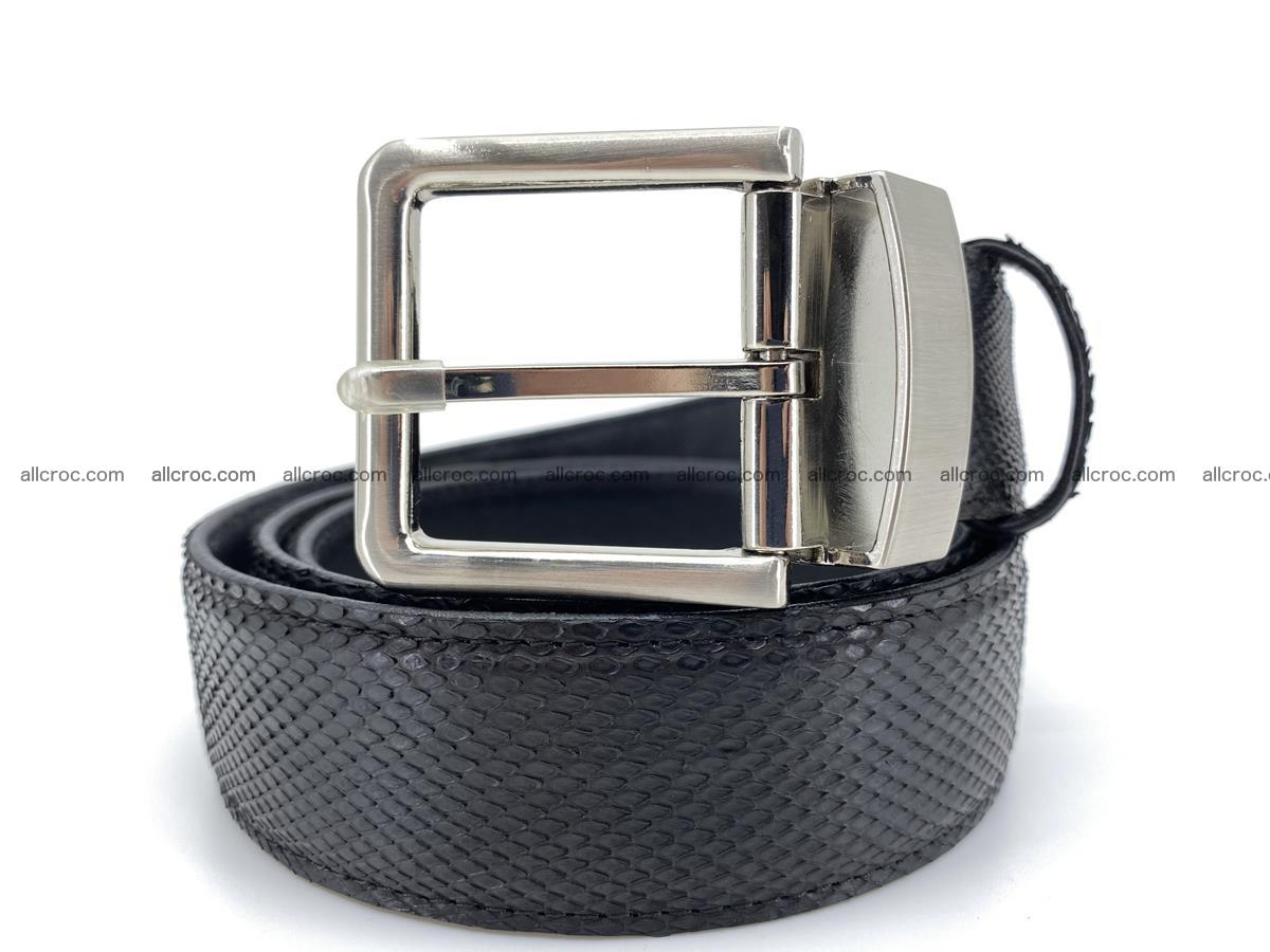 Python snake leather belt 700 Foto 0