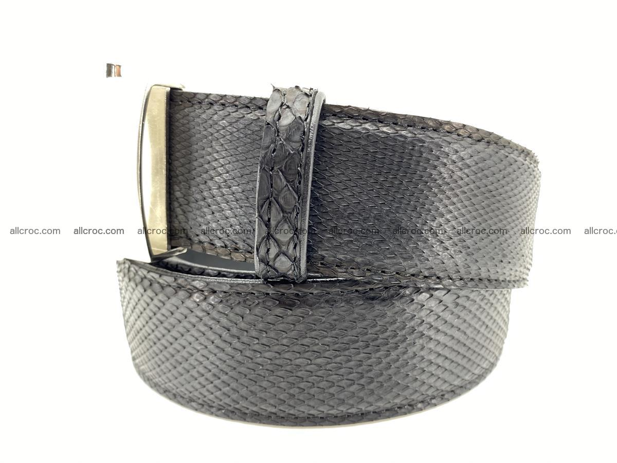 Python snake leather belt 700 Foto 1