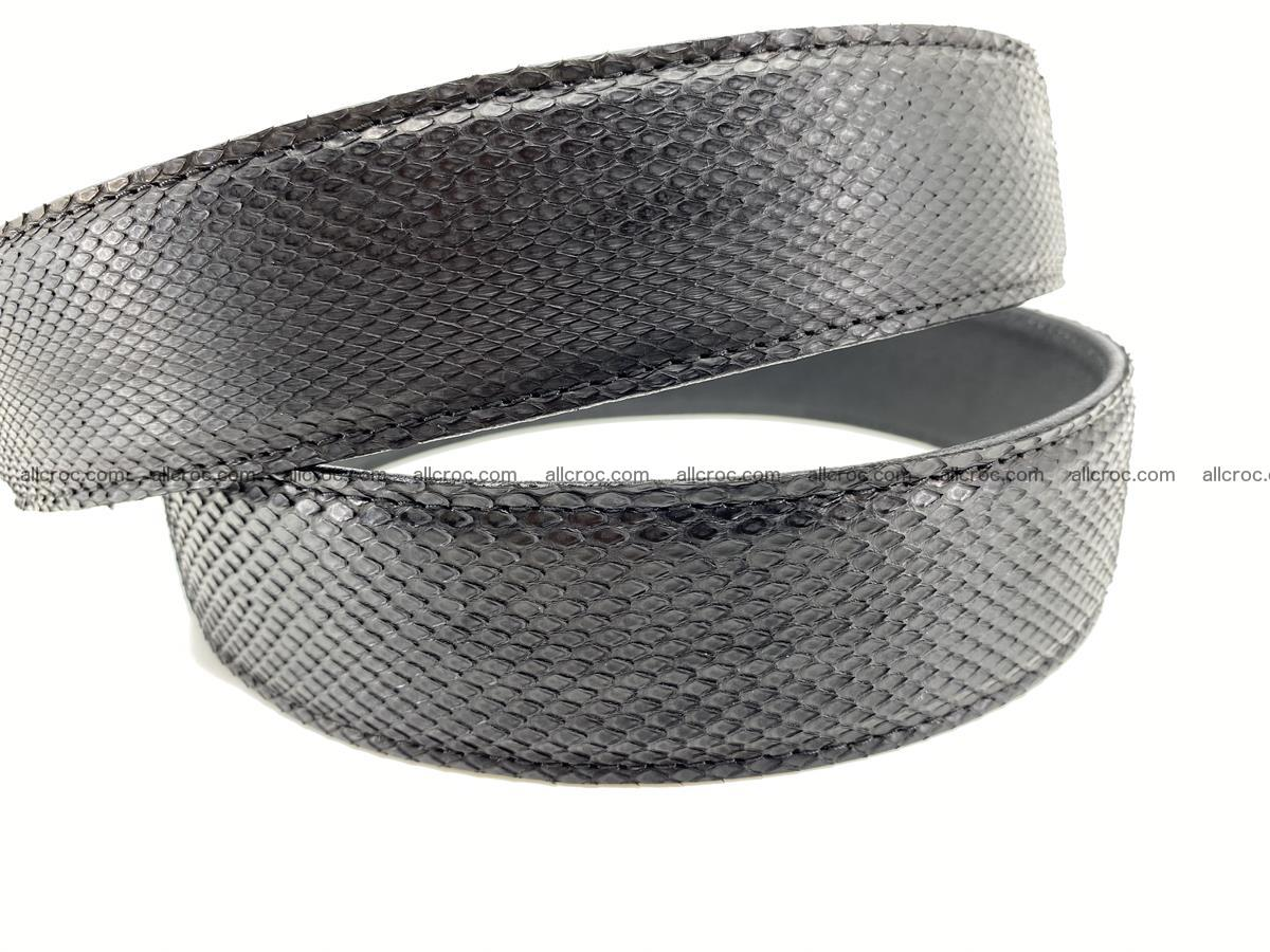 Python snake leather belt 700 Foto 7