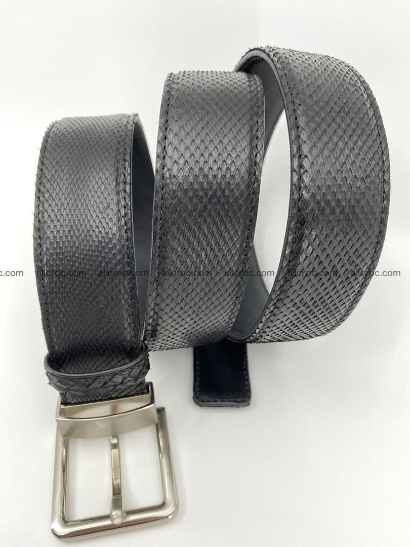 Python snake leather belt 700 Foto 3