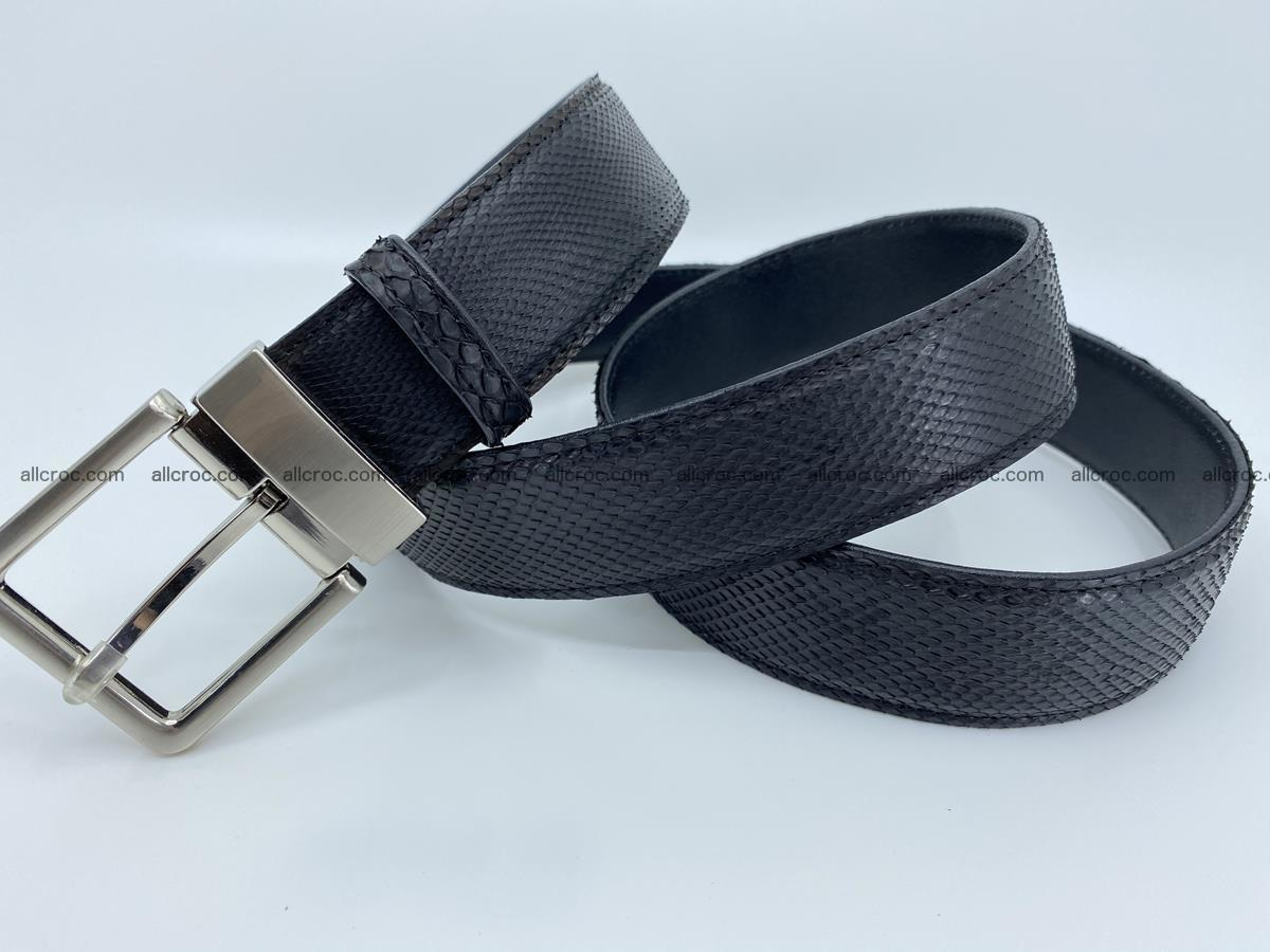 Python snake leather belt 700 Foto 5