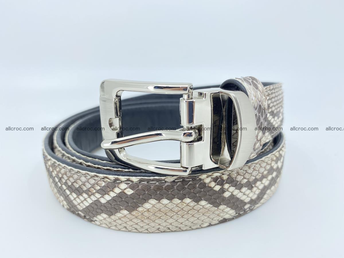 Python snake leather belt 708 Foto 0