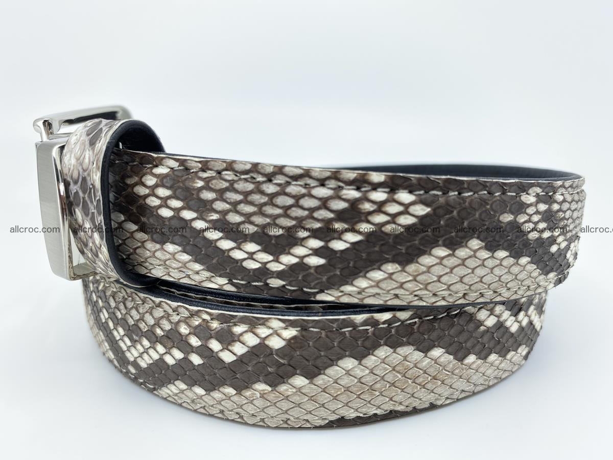 Python snake leather belt 708 Foto 1