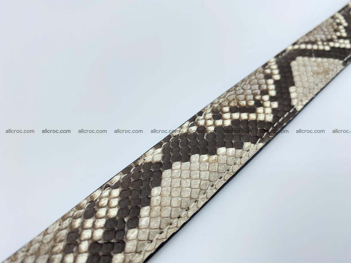 Python snake leather belt 708 Foto 7