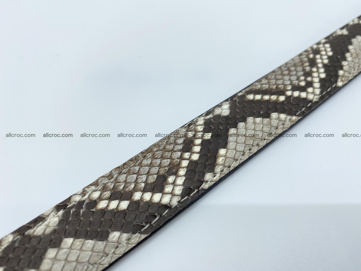 Python snake leather belt 708 Foto 9