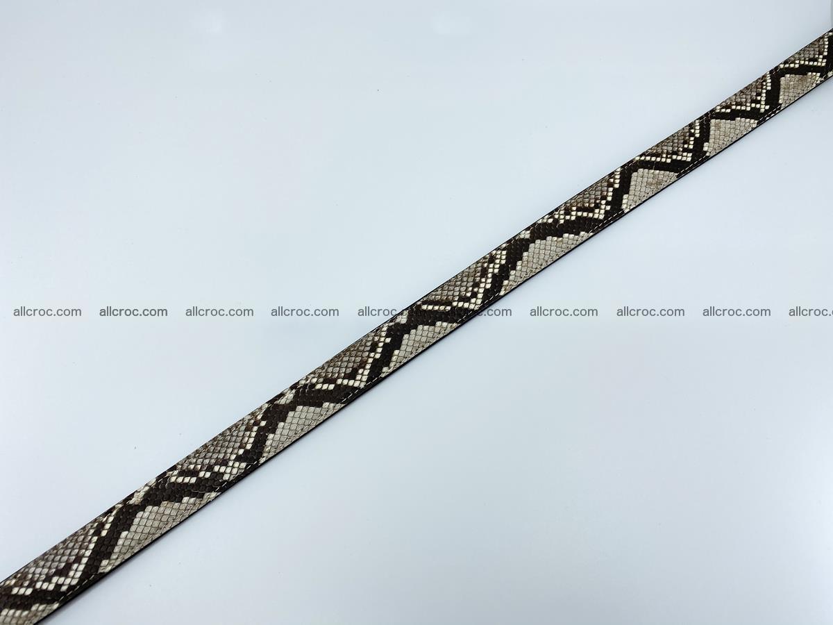 Python snake leather belt 708 Foto 8