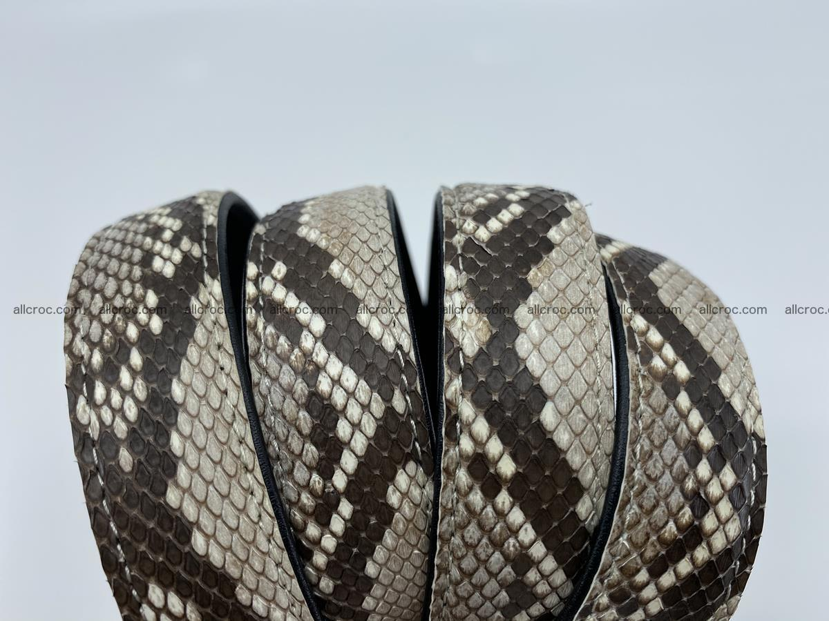 Python snake leather belt 708 Foto 6