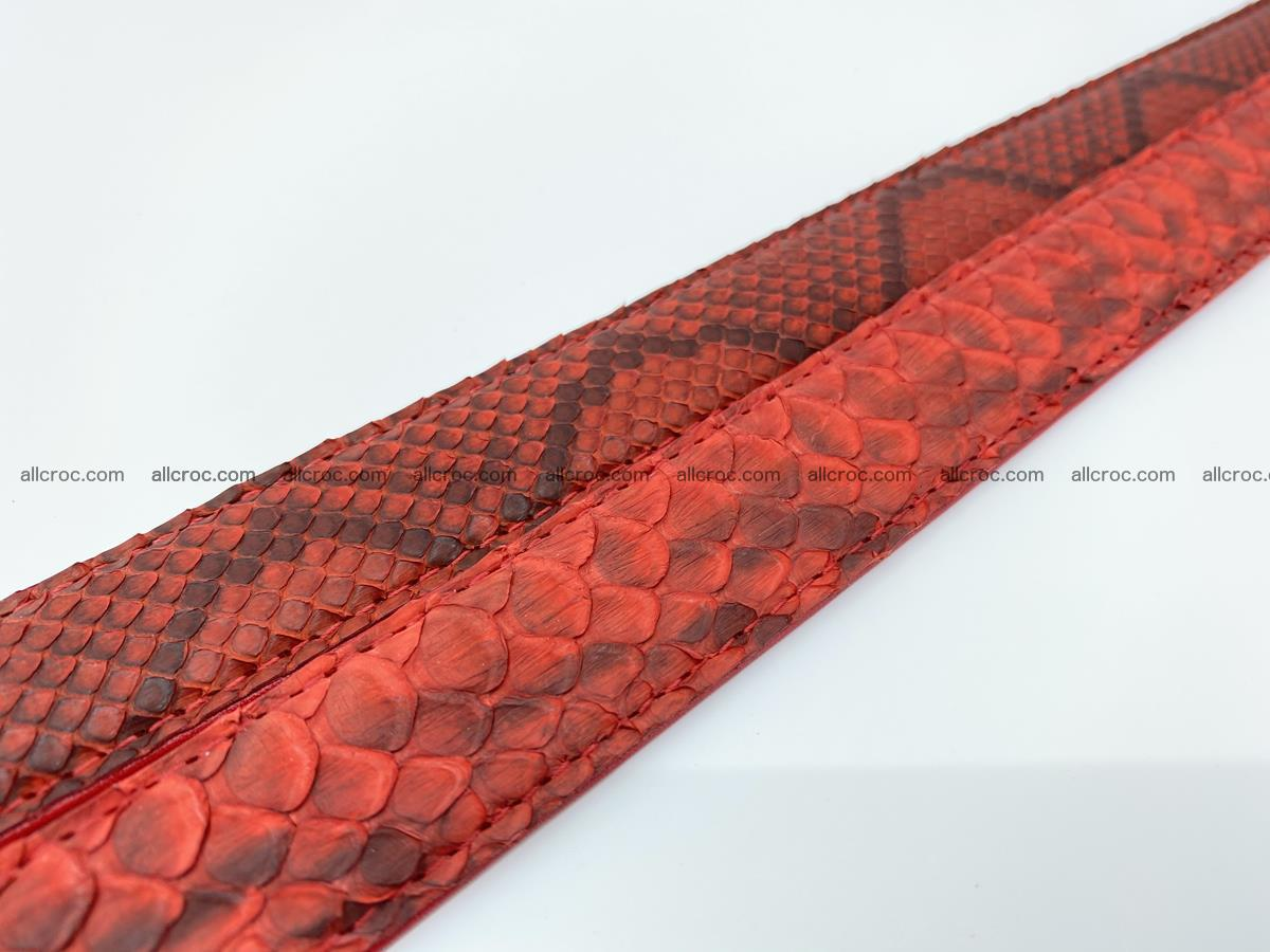 Python snake leather belt 705 Foto 11