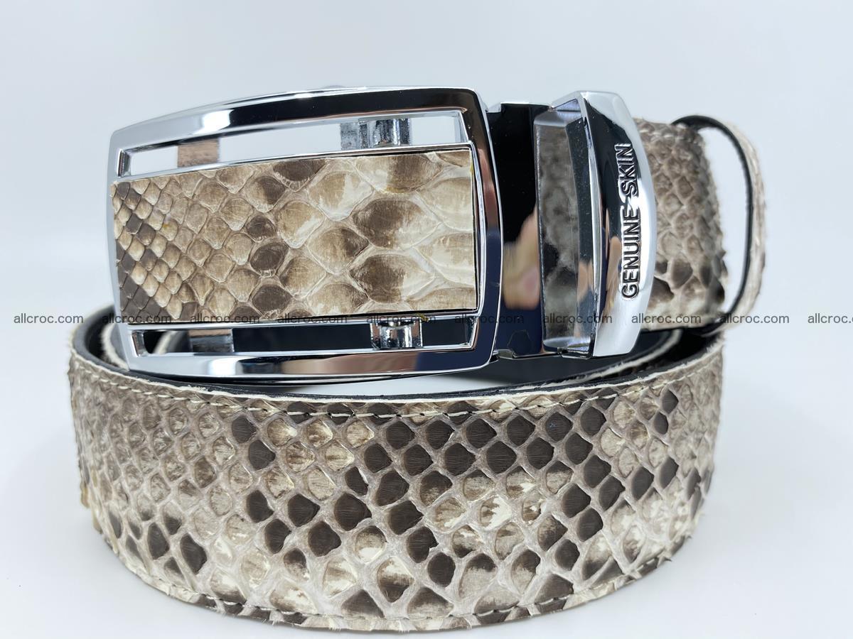 Python snake leather belt 703 Foto 0