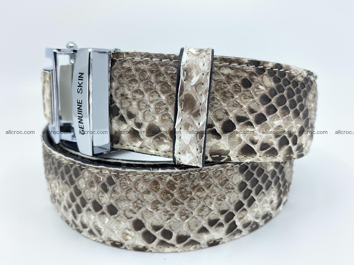 Python snake leather belt 703 Foto 1