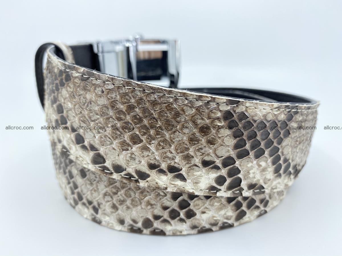 Python snake leather belt 703 Foto 2