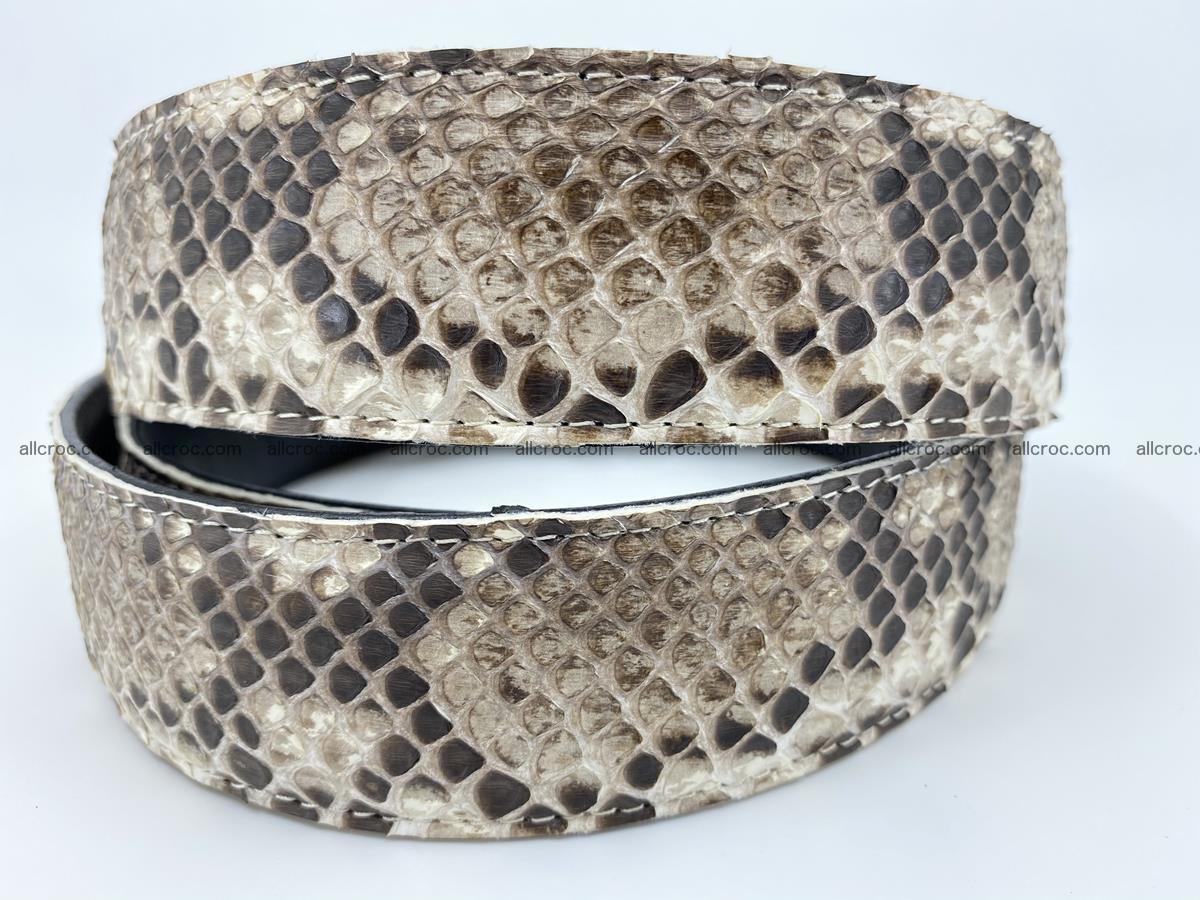 Python snake leather belt 703 Foto 3