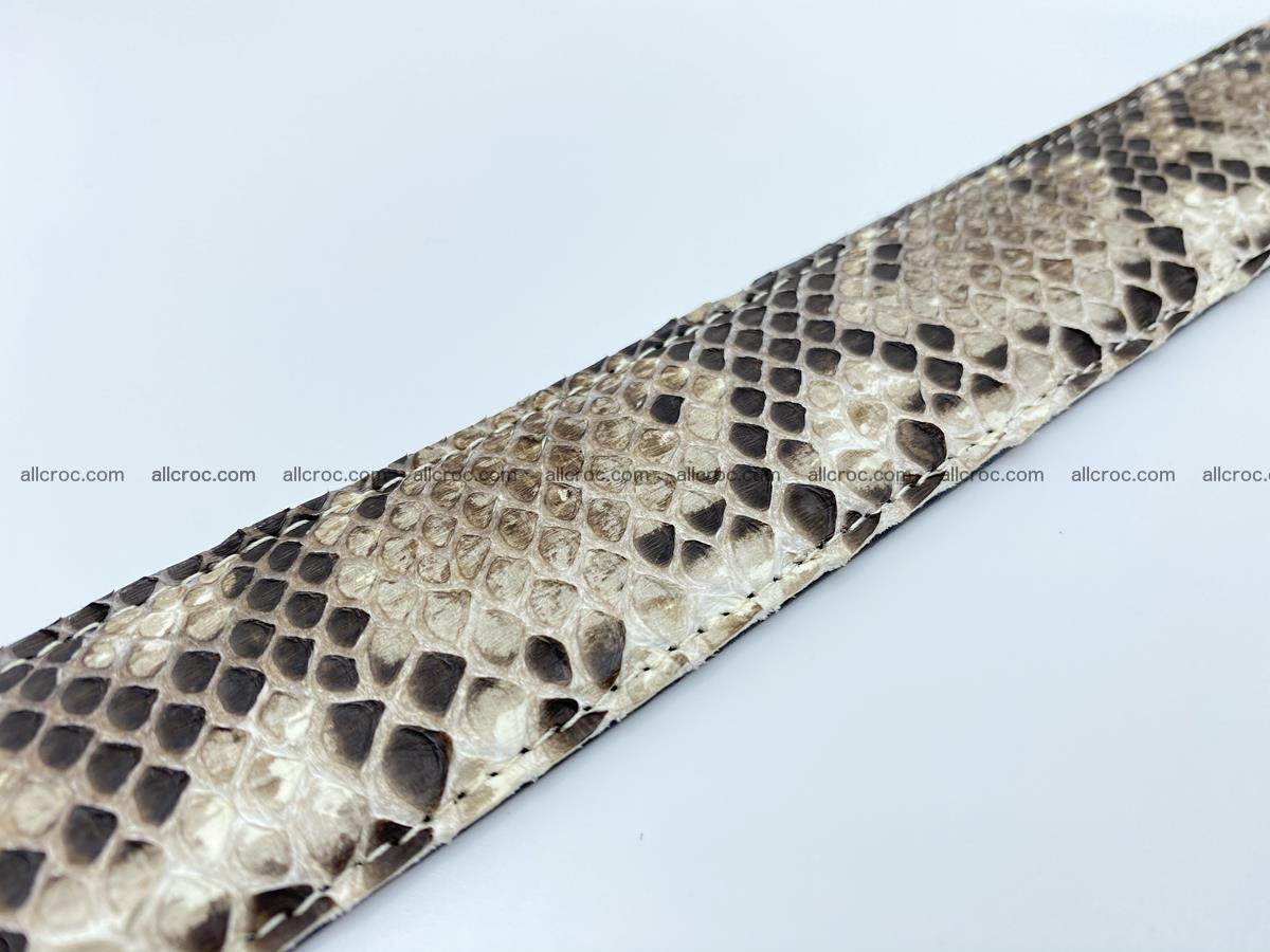 Python snake leather belt 703 Foto 12