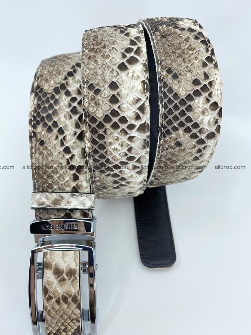 Python snake leather belt 703 Foto 5