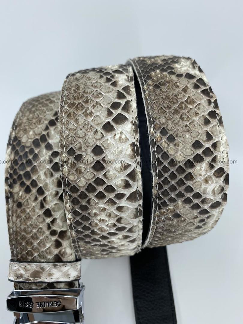Python snake leather belt 703 Foto 8