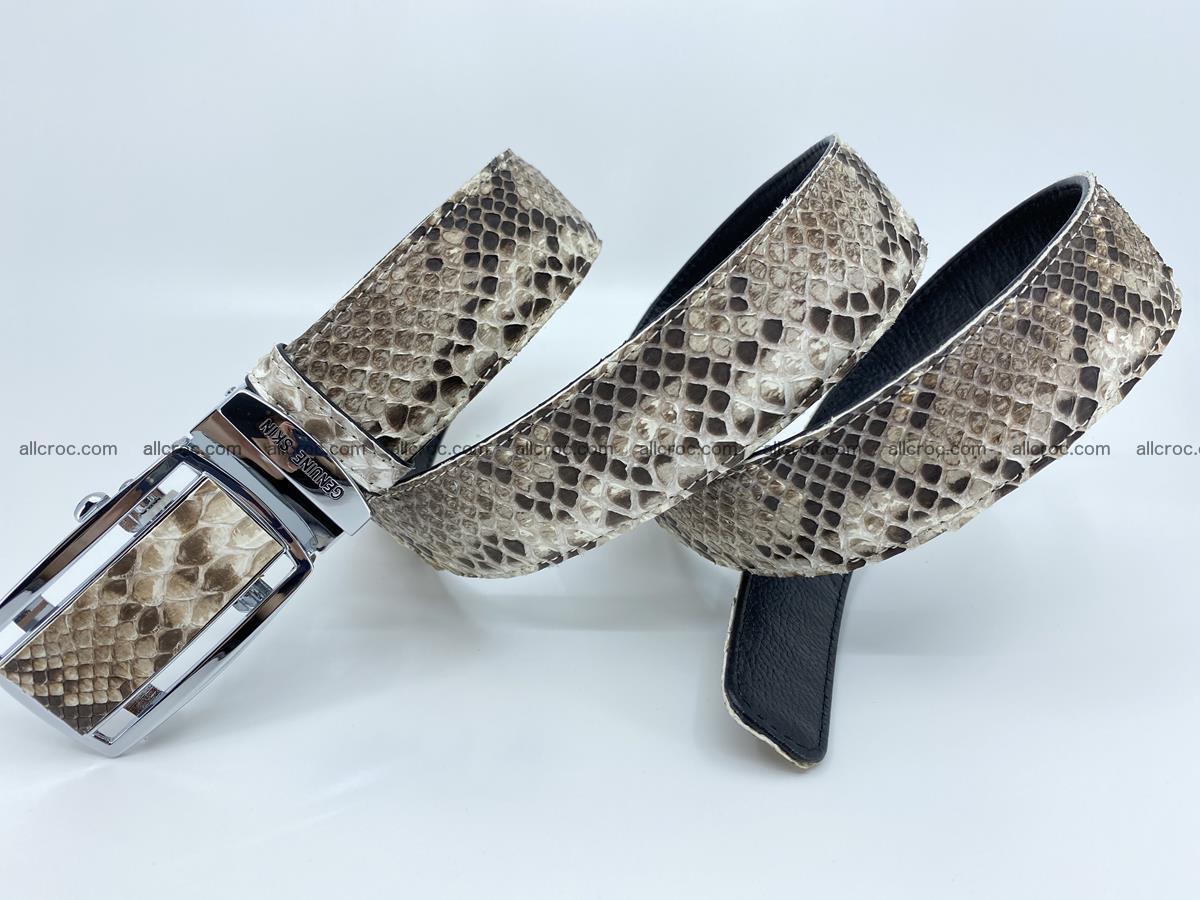 Python snake leather belt 703 Foto 9