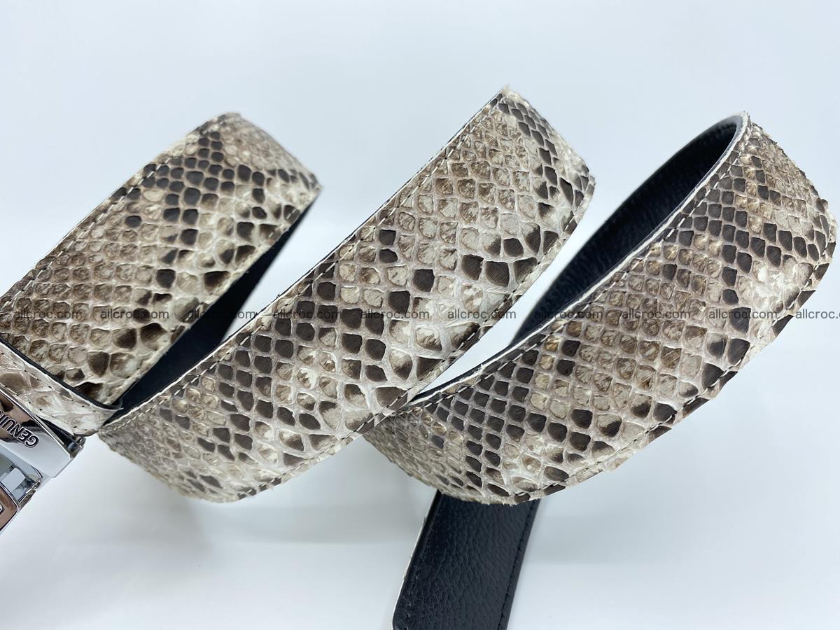Python snake leather belt 703 Foto 10