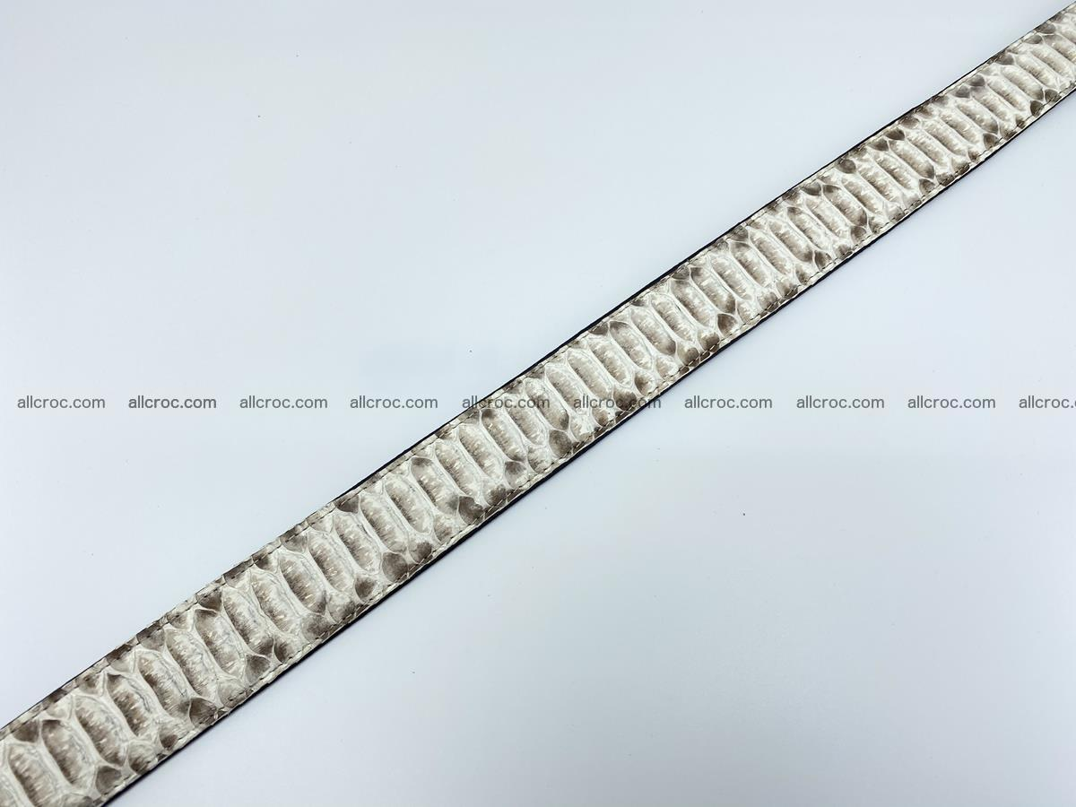 Python snake leather belt 702 Foto 13