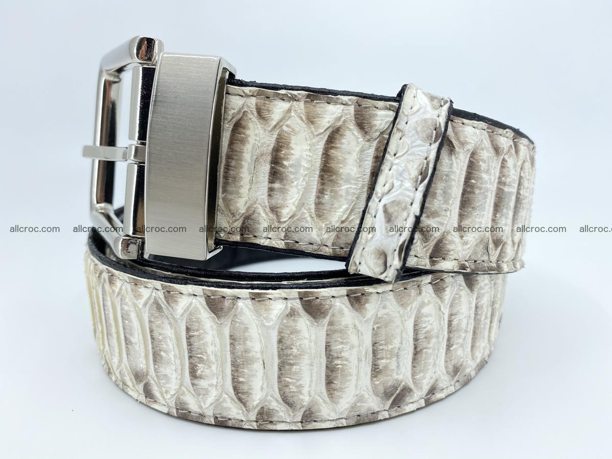 Python snake leather belt 702 Foto 1