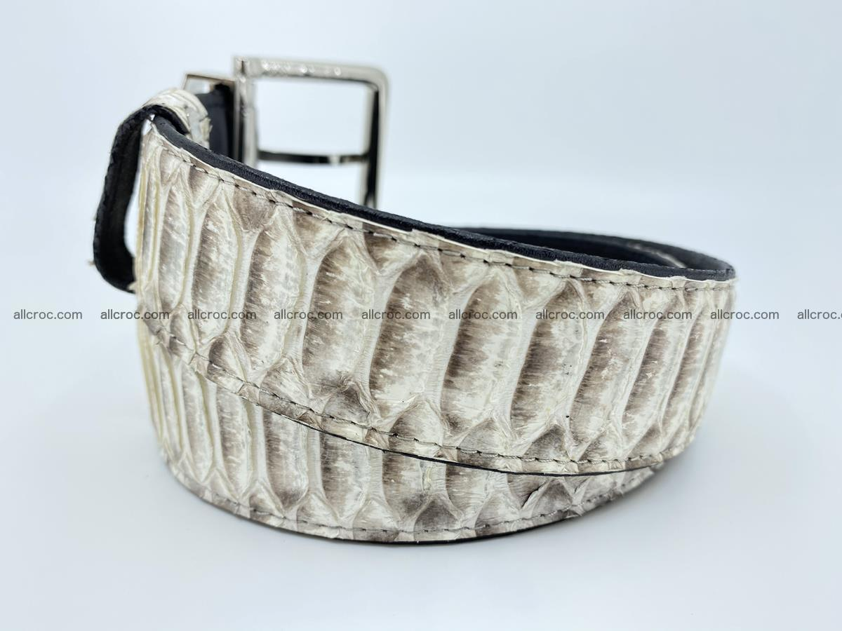 Python snake leather belt 702 Foto 2