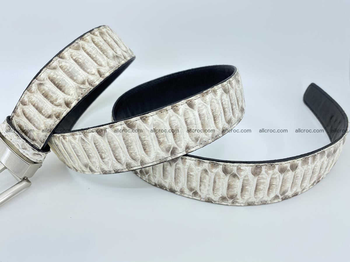 Python snake leather belt 702 Foto 8
